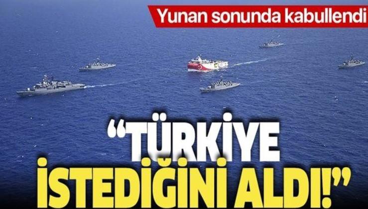 Yunan basını Doğu Akdeniz'deki hezimeti yazdı: Türkiye istediğini aldı