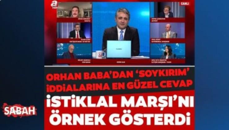 Orhan Gencebay'dan 'soykırım' iddialarına en güzel cevap: İstiklal Marşı'nın aranjörü Türkiye Ermenisi'dir