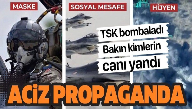 Mehmetçik, PKK'lı teröristleri bombalayınca bakın ses kimden çıktı
