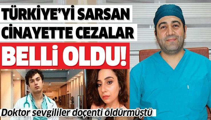 Elazığ'da doktoru öldüren tıp öğrencisi ve doktor sevgilisine müebbet!.