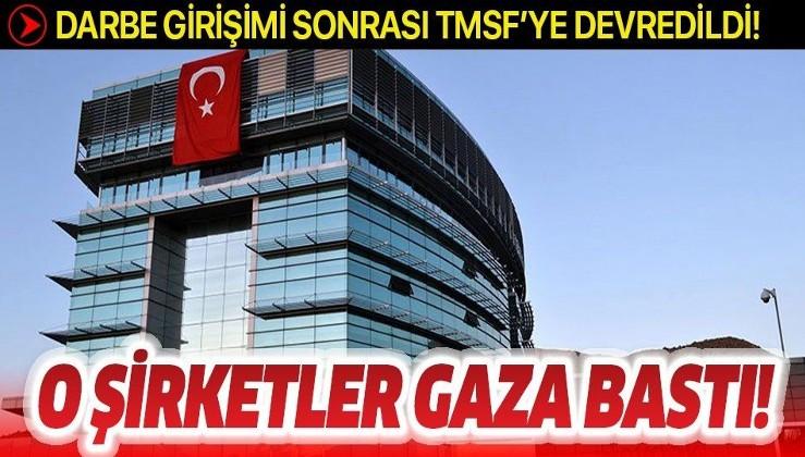 FETÖ'nün darbe girişiminden sonra TMSF'ye devredilen şirketlerin aktifleri yüzde 43 arttı!