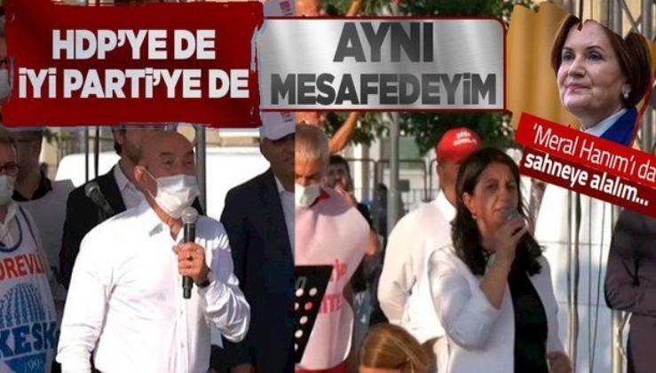 Tunç Soyer: İYİ Parti'ye de HDP'ye de aynı mesafedeyim