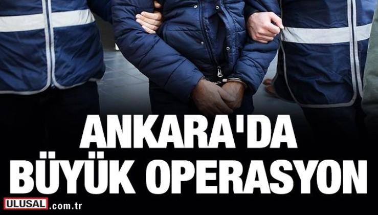 Ankara'da Deniz Kuvvetleri'nde FETÖ operasyonu: 3'ü albay 27 kişi...