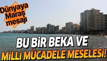46 yıllık hasret sona erdi! Türkiye ve KKTC'den dünyaya 'Maraş' mesajı