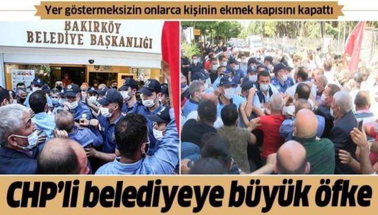Bakırköy Belediyesi'ne pazar esnafından büyük tepki