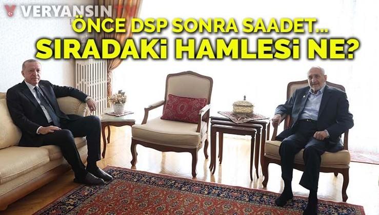Erdoğan'dan 'Saadet Partisi' hamlesi: Asiltürk'ün ardından o isimle de görüşecek