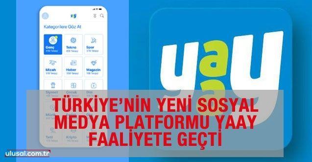 Sosyal medyanın nabzı Yaay'da atacak
