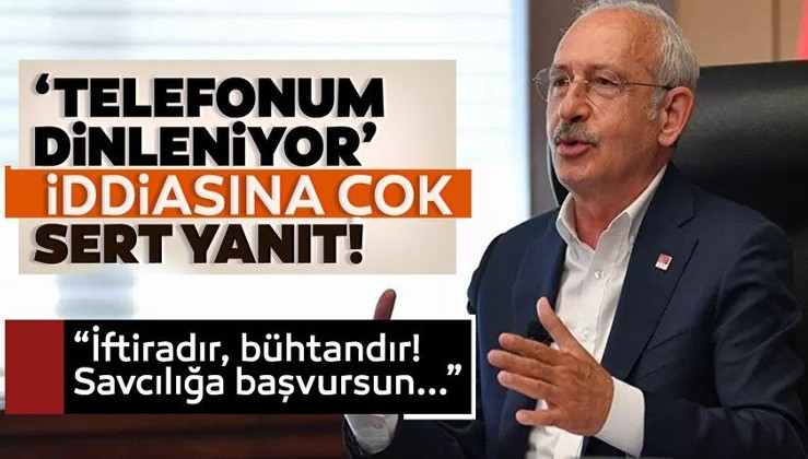 Son dakika: 'Telefonlarımız dinleniyor' diyen Kılıçdaroğlu'na Soylu'dan sert yanıt: İftiradır, büthandır