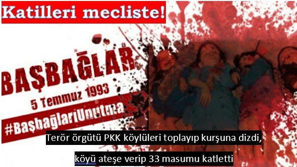 Emperyalizmin maşası PKK'nın katliamı!