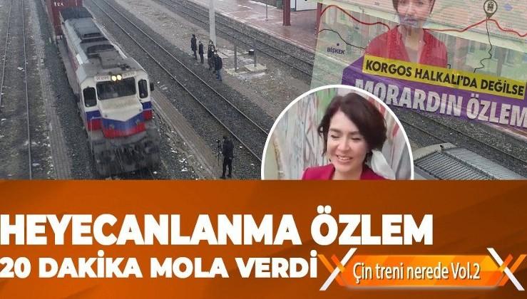 Çektiği tren videosu ile alay konusu alan Özlem Gürses'e duyurulur: Çin'e giden ikinci ihracat treni Sivas'a ulaştı!