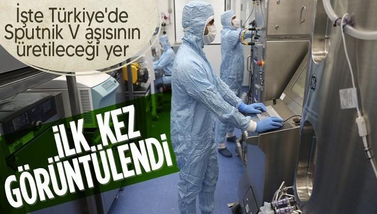 İşte Türkiye'de Sputnik V aşısının üretileceği yer! İlk kez görüntülendi
