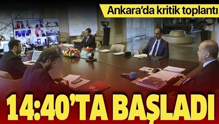Son dakika: AK Parti MYK Erdoğan liderliğinde toplandı