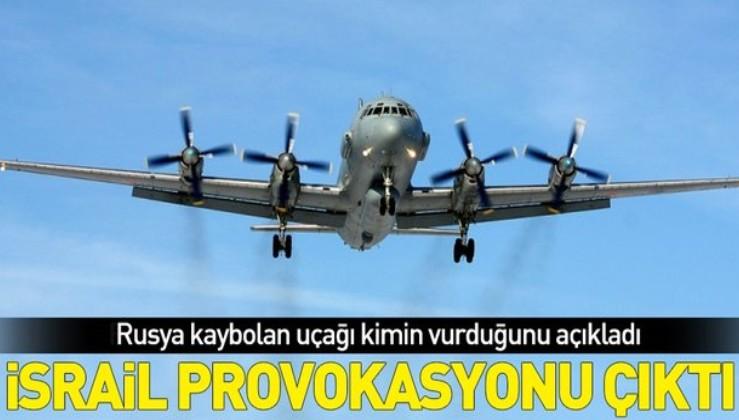 Son dakika: Rusya açıkladı: Uçağımız İsrail jetleri yüzünden Suriye hava sisteminin hedefi oldu.