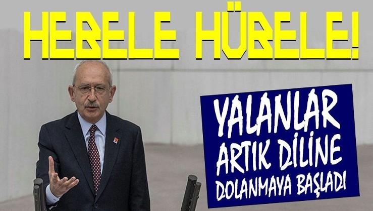 Bütçe görüşmelerinde konuşan Kılıçdaroğlu'nun yalanları diline dolandı