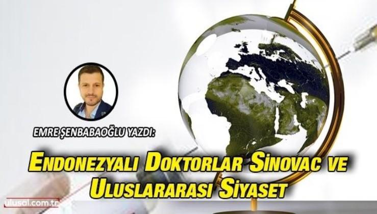 Endonezyalı doktorlar, Sinovac ve uluslararası siyaset