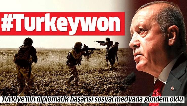 FETÖ'den arınmış Türk ordusunun başarısı yedi düveli dize getirdi!