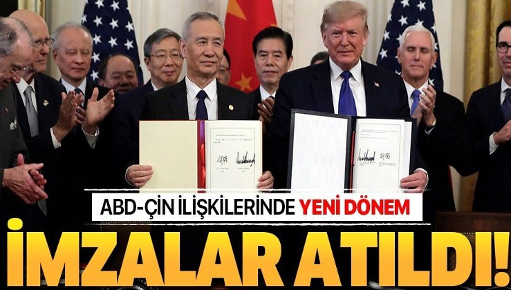 Son dakika: ABD ile Çin arasında yeni dönem!