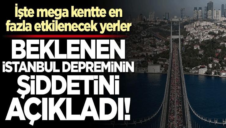 """Uzman isimden """"İstanbul Depremi"""" açıklaması! İşte mega kentte en fazla etkilenecek yerler..."""