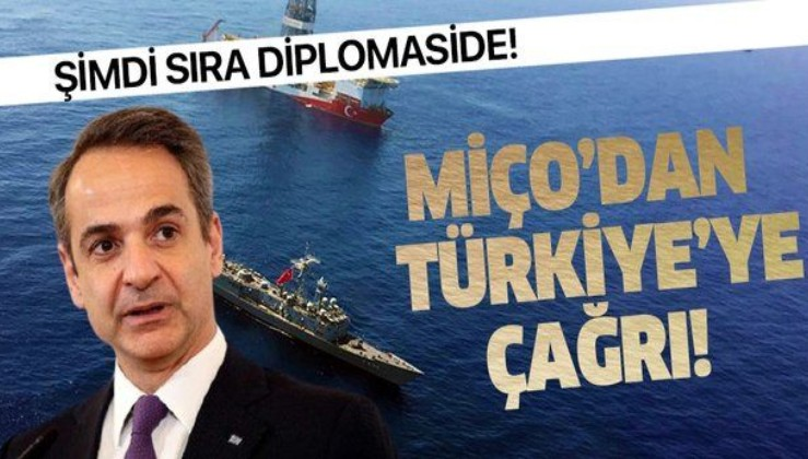 Son dakika: Miçotakis'ten Türkiye'ye diplomasi çağrısı!