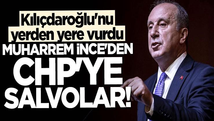 Muharrem İnce Kılıçdaroğlu'nu yerden yere vurdu: Cehalet böyle bir şey