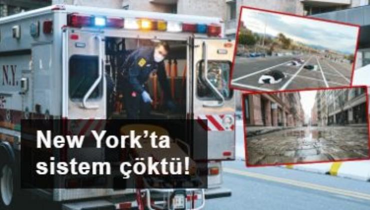 New York'ta sistem çöktü!