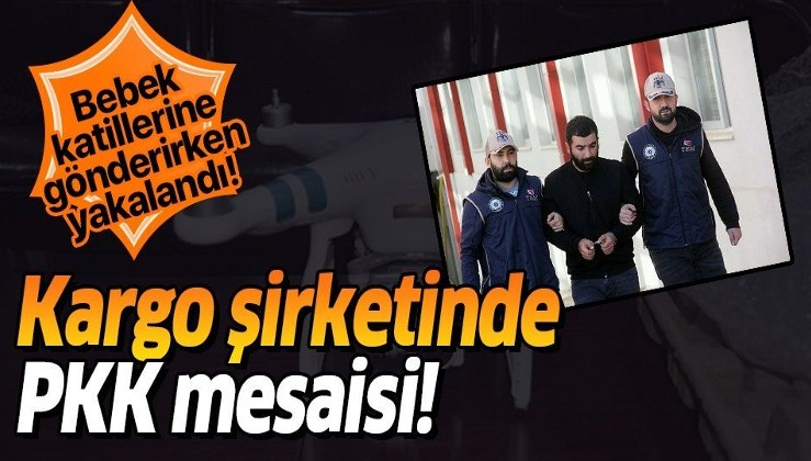 Adana'da bir şahıs terör örgütüne drone gönderirken yakalandı!.