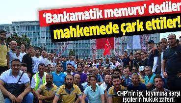 """""""Bankamatik memuru"""" dediler, mahkemede çark ettiler! İBB'nin işçi kıyımında mağdur işçilerin hukuk zaferi"""