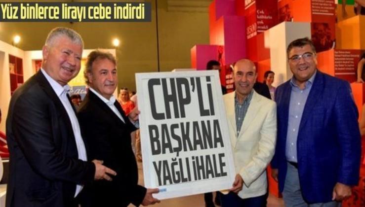 İzmir'de CHP'li başkana yağlı ihale! Yüz binlerce lirayı cebe indirdi