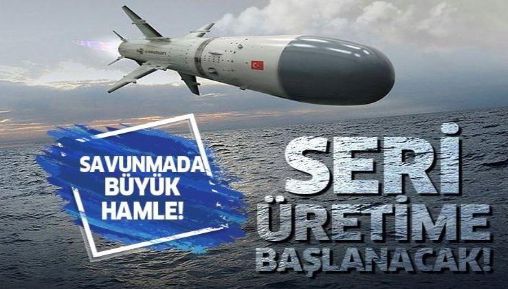 Savunma Sanayi Başkanı İsmail Demir'den flaş Atmaca füzesi açıklaması: Seri üretime geçiyoruz
