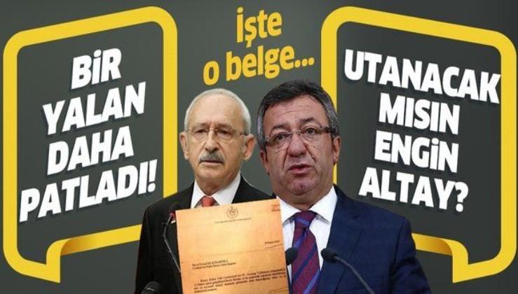 Engin Altay'ın 'KKTC'de düzenlenen törene Kemal Kılıçdaroğlu ve Meral Akşener çağrılmadı' iddiası yalan çıktı!