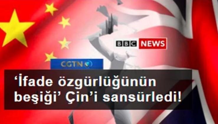 'İfade özgürlüğünün beşiği' Çin'i sansürledi!