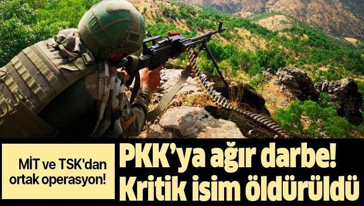 MİT ve TSK'dan ortak operasyon! PKK'ya ağır darbe: Kritik isim öldürüldü.