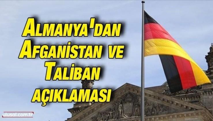 Almanya'dan Afganistan ve Taliban açıklaması
