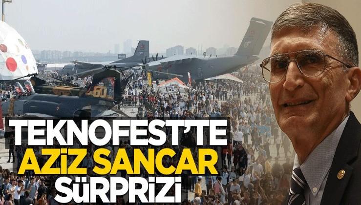 TEKNOFEST'te Aziz Sancar sürprizi