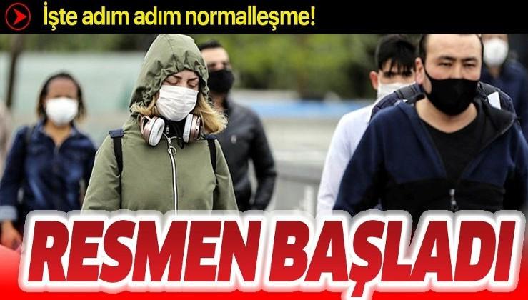 Türkiye koronavirüsle mücadeleden başarılı çıktı! İşte adım adım normalleşme!