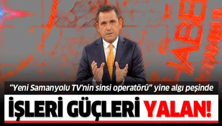 """""""Yeni Samanyolu TV'nin sinsi operatörü"""" Fatih Portakal Barış Pınarı Harekatı'nda da algı peşindeydi."""