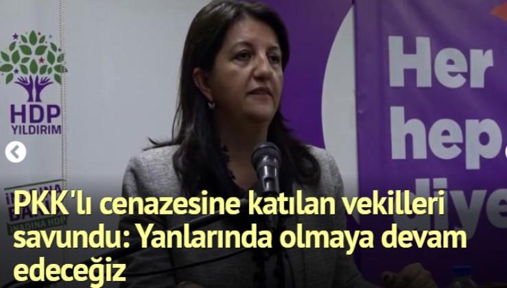 HDP'li Buldan, PKK'lı cenazesine katılan vekilleri savundu: Bu bizim geleneğimizde var!