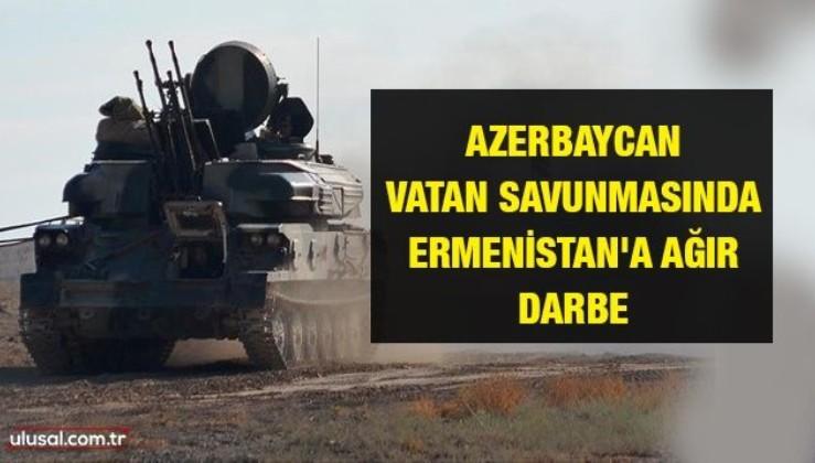 Azerbaycan vatan savunmasında! Ermenistan'a ağır darbe