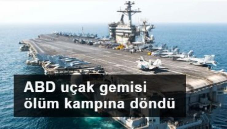 ABD uçak gemisinde salgın: Gemi tahliye edilmezse askerlerimiz ölecek