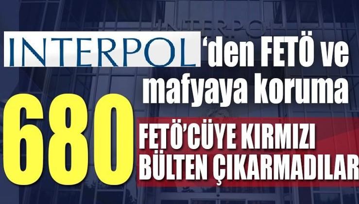 Interpol'den FETÖ ve mafyaya koruma: 680 FETÖ'cü hakkında kırmızı bülten çıkarmadılar