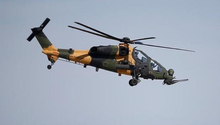 ATAK helikopteri etkisiz hale getirdi