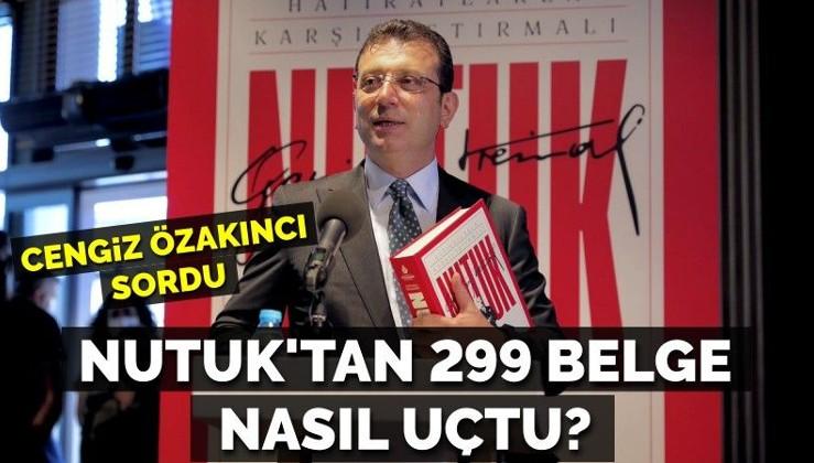 İmamoğlu'nun dağıttığı Nutuk'tan 299 belge uçtu!