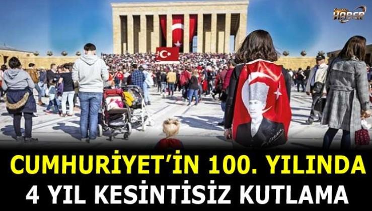 """Cumhurbaşkanı Erdoğan'dan '100'üncü yıl' genelgesi: """"Cumhuriyetimiz büyük bir coşkuyla kutlanacaktır"""""""