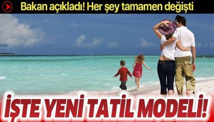 Kültür ve Turizm Bakanı açıkladı: 2020 model tatil nasıl olacak?