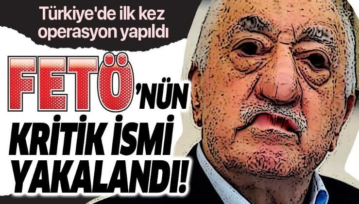 Türkiye'de ilk kez operasyon yapıldı! FETÖ'nün kritik ismi Adana'da yakalandı.