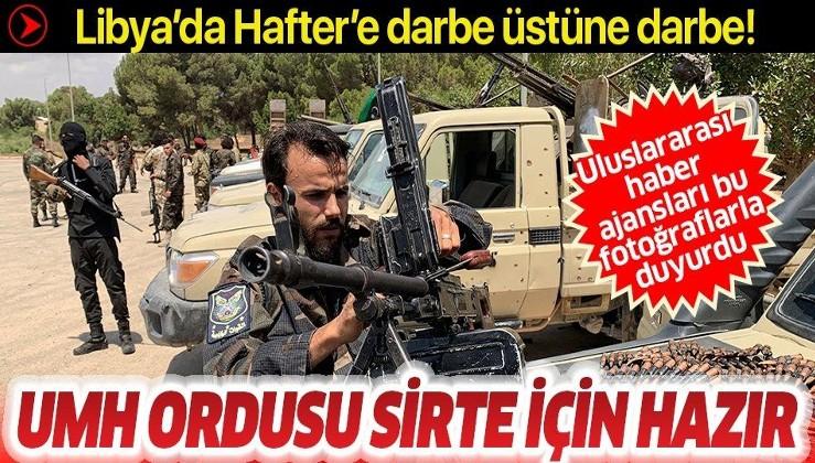 Libya'da Hafter'e darbe üstüne darbe: UMH ordusu Sirte için hazır