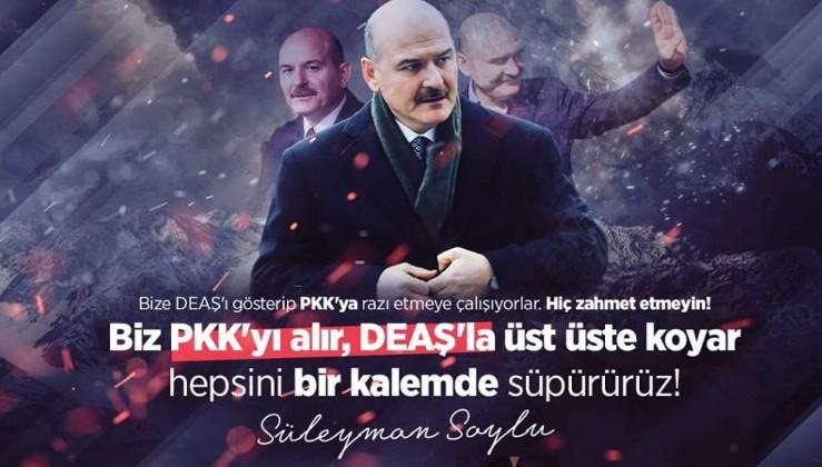 Soylu istifa etti, PKK/FETÖ bayram etti, işte o mesajlar!