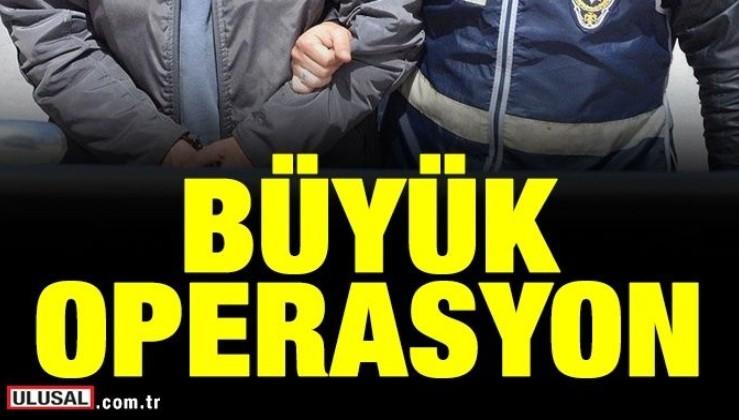 Aralarında askeri okullardan atılanların da bulunduğu 22 şüpheli ve bazı eski TÜBİTAK çalışanları hakkında gözaltı kararı verildi