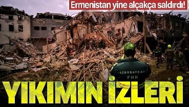 Ermenistan'dan Gence'ye hain saldırı! Her şey gün ağardığında ortaya çıktı