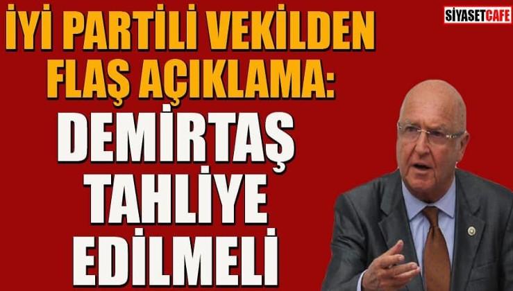 """İYİ Partili Hasan Subaşı Demirtaş'ın tahliyesini istedi: """"HDP düşman değil, yarıştığımız yasal bir parti"""""""